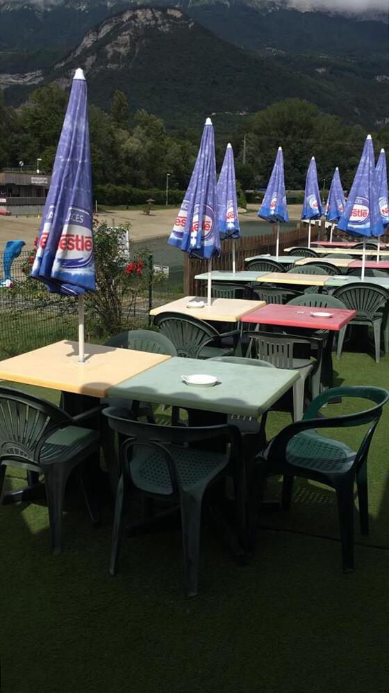 Camping du Lac de la Terrasse - Restaurant snack/bar - terrasse
